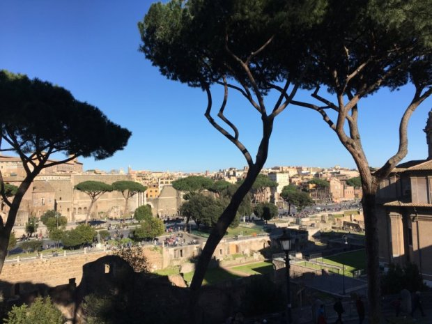 Rome from Capitoline Hill