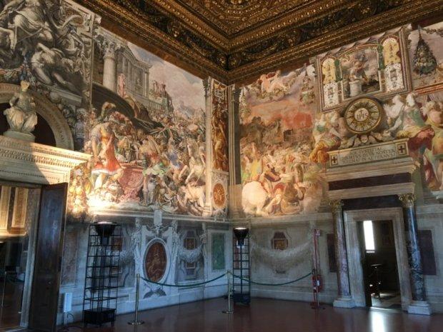 Palazzo Vecchio Sala delle Udienze