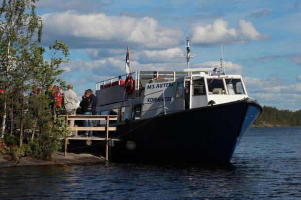 M/S Autere cruise on Lake Konnevesi