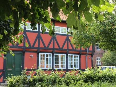 Half-timbered house, Aalborg Denmark
