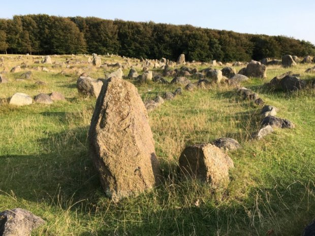 Lindholm hoje viking burial ground
