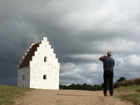 The sand-covered church, Jutland