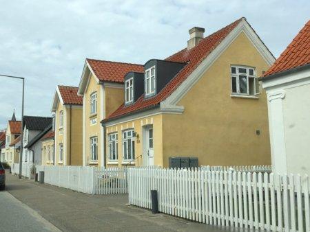 Yellow Lokken houses, North Jutland