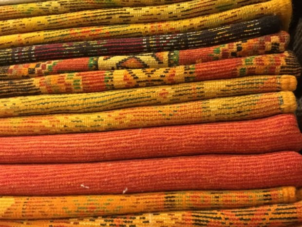 Marrakech souk: Moroccan carpets