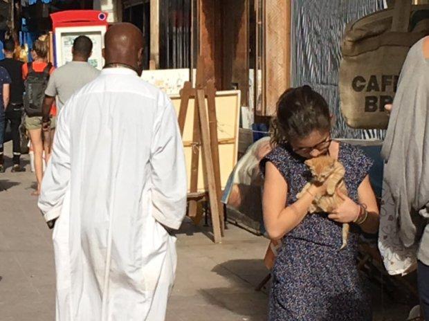 Essaouira locals and visitors