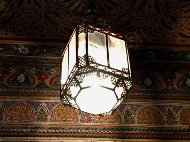 Interior decoration of the Palais Bahia, Marrakech
