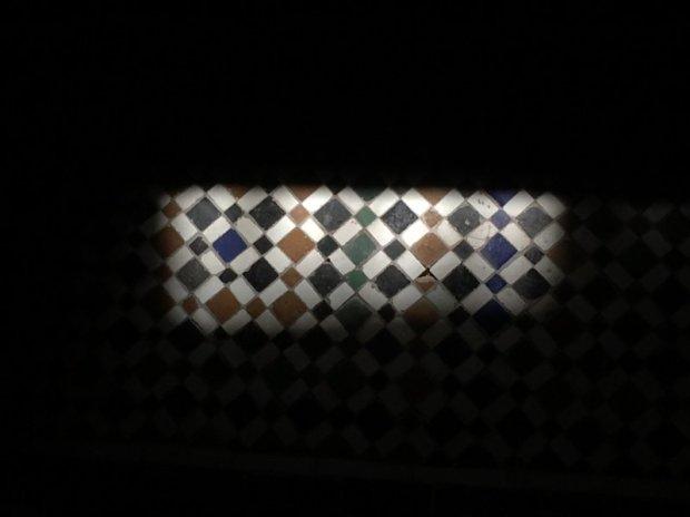 Things to do in Marrakech, Palais Bahia tiles