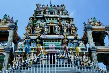 Hindu temple Sri Lanka West Coast