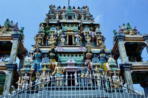 Hindu temple Sri Lanka West Coast