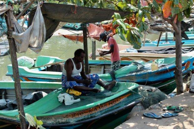 Negombo fishermen