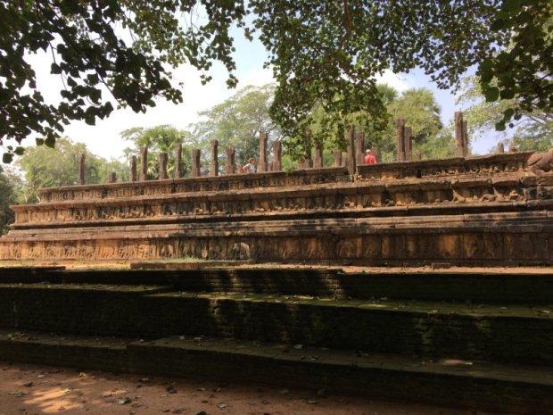 Ruins at Polonnaruwa, Sri Lanka