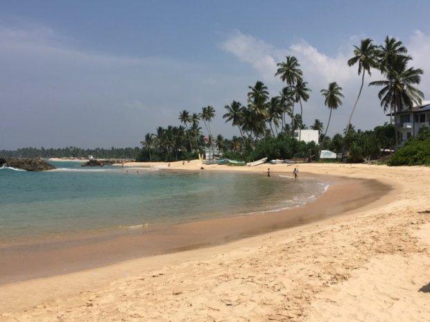 South Coast beach, Sri Lanka