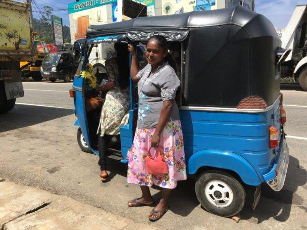 Tuk tuk owner, Sri Lanka