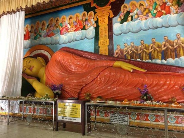 Anuradhapura reclining Buddha
