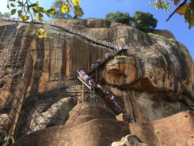 Climbing Sri Lanka's ancient cities: Sigiriya Rock