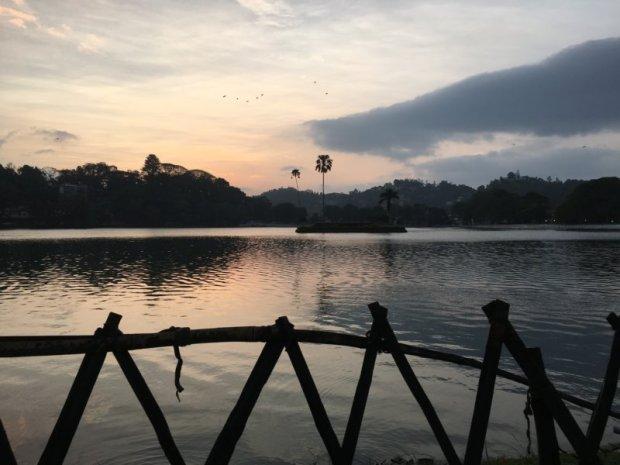 Kandy lakeside view