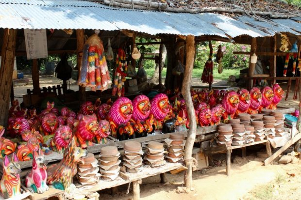 Souvenirs and curd and honey, Sri Lanka's South Coast