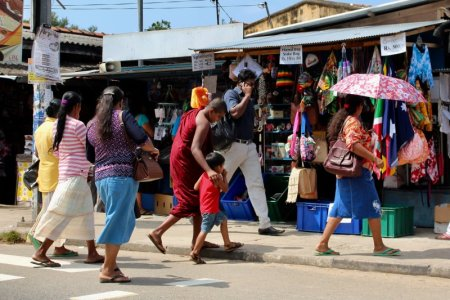 Sri Lanka's South Coast locals