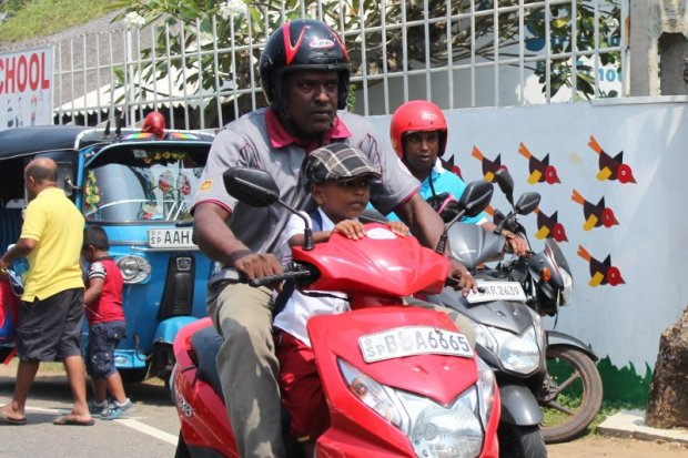 Sri Lanka's South Coast street life