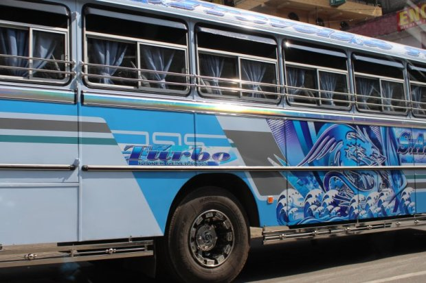 Typical Sri Lankan bus