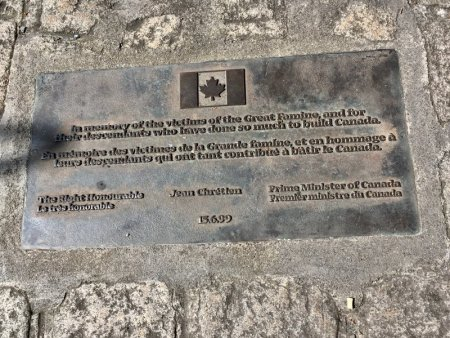 The Great Famine memorial, Dublin