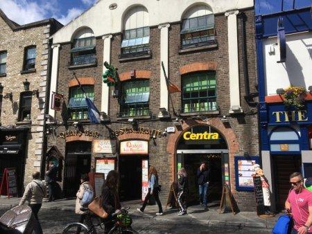 Self-guided Dublin walking tour, Temple Bar walking area