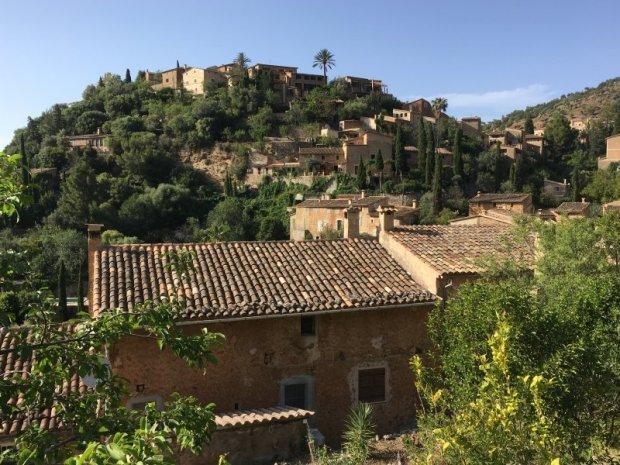 Hilltop village of Deia, Serra de Tramuntana