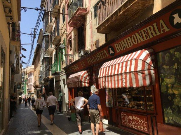 Old town street, Palma de Mallorca