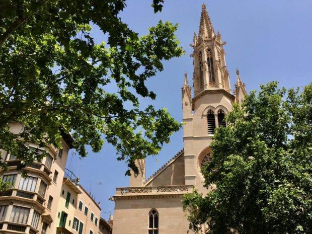 Palma de Mallorca Church of Santa Eulalia