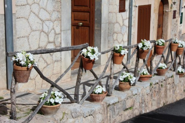 Valldemossa flower decorations