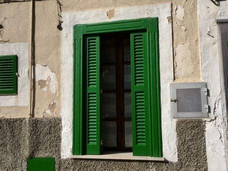 Window in Serra de Tramuntana, Mallorca