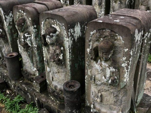 Ojizosama statues