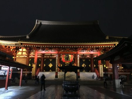 Senso-Ji Temple and Incense Burner