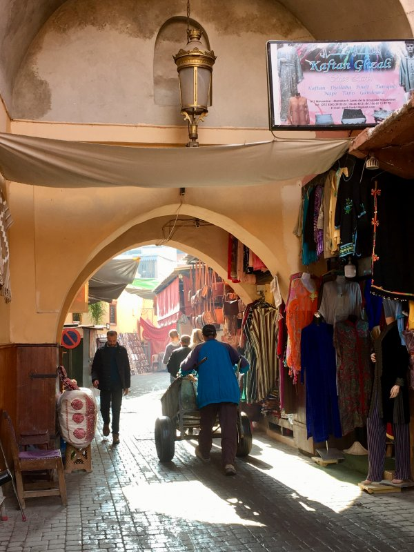 Gate to the souks of Marrakech