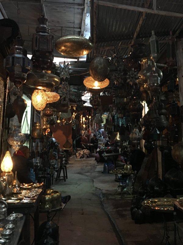 Ironworkers souk, Marrakech
