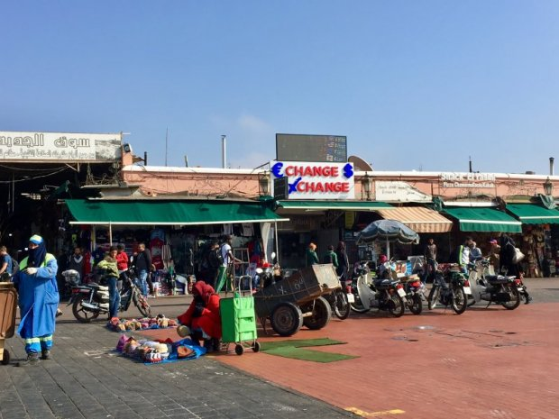 Jemaa el-Fna marketplace, Marrakech