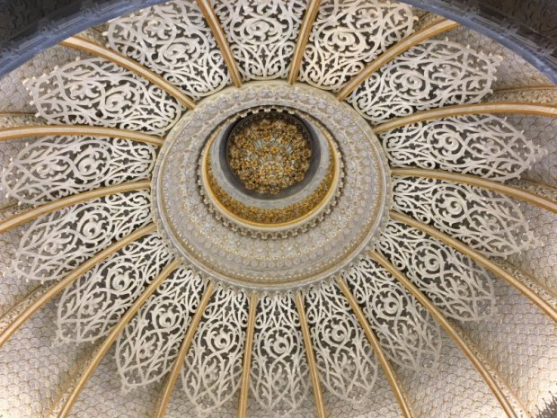 Palaces of Sintra by bus: Palace of Monserrate Moorish dome