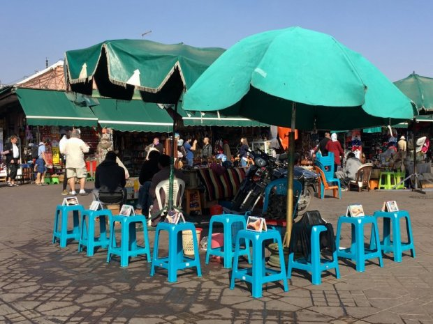One of the Jemaa el-Fna stalls