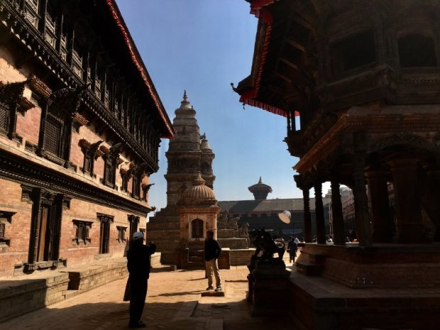 Travel in Nepal: Bhaktapur Durbar Square and pagoda