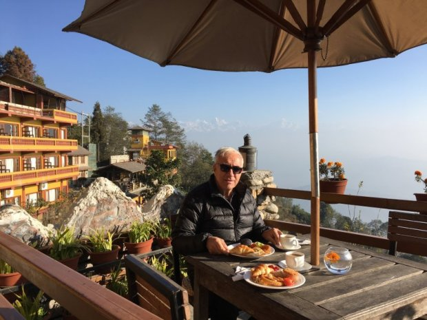 Hotel Country Villa breakfast with views
