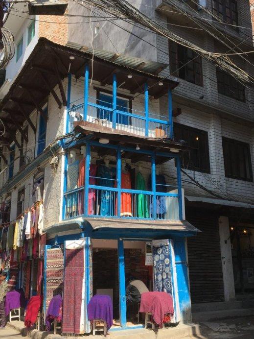 A corner in Thamel, Kathmandu