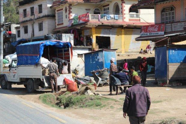 Highway view Pokhara to Kathmandu