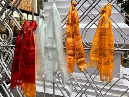 Jangchub Choeling Tibetan Monastery prayer ribbons