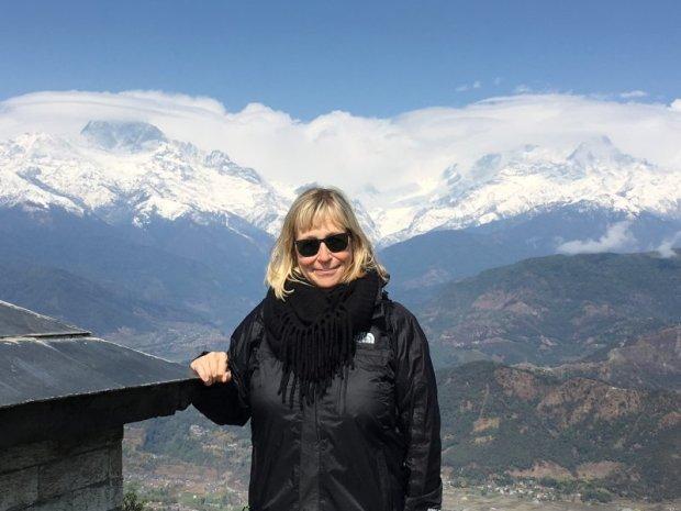 Mountain spotting in Sarangkot