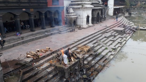 Pashupatinath Temple cremation