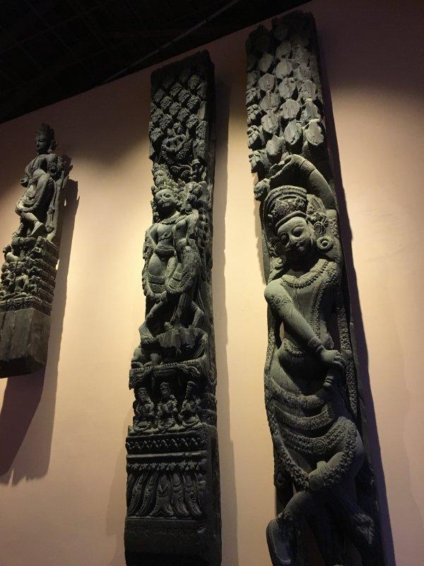 Patan Musem wood carvings