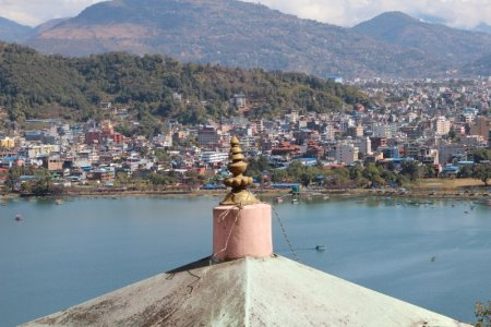 Pokhara hike to the World Peace Stupa