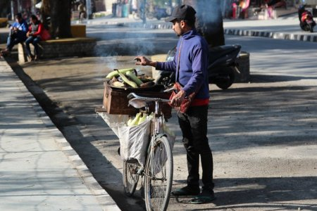 Pokhara street seller