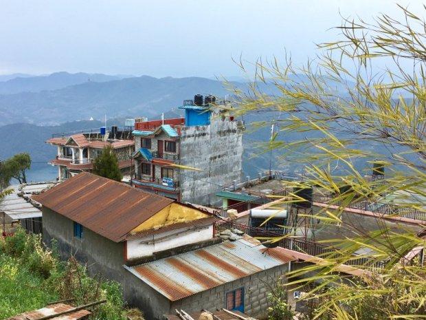 Sarangkot houses