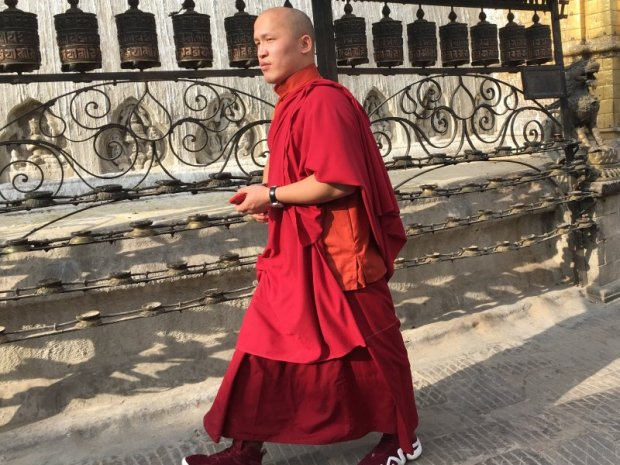 Walking around Kathmandu Monkey Temple